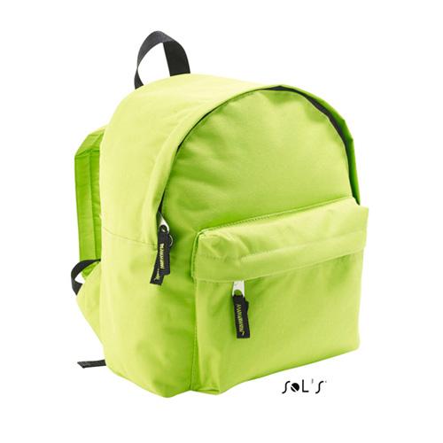 Kids Rucksack Rider aus 600D Polyester mit gefüttertem Rückenteil, verstellbaren Gurten und Fronttasche mit Reißverschluss, günstige Werbetasche für Kinder bei taschenprint.de
