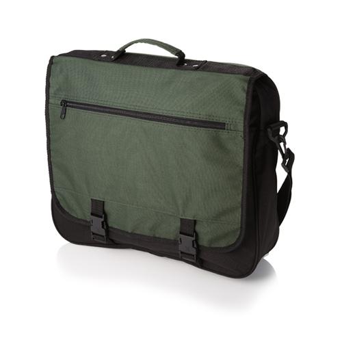 Umhängetasche Anchorage Conference Bag günstige Dokumententasche mit großem Hauptfach, Schultergurt und Tragegriff bedruckt mit Logo als Werbetasche
