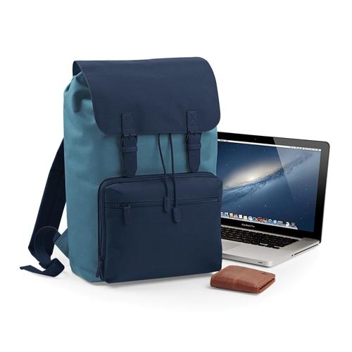 """Vintage Laptop Backpack Rucksack im modernen Style aus Polyester in vielen modischen Farben passend für Laptops bis 17"""", mit Logo bedrucken als Werbeartikel bei taschenprint"""