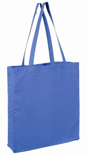 Baumwolltasche Boden und Seitenfalte 38x42x10cm bedruckt bei taschenprint mit Logo oder Werbung als Einkaufstasche bestens geeignet