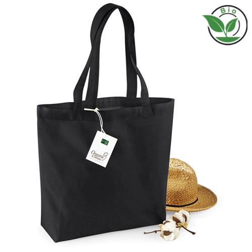 Bio Baumwolltasche Organic Cotton Shopper mit Werbemittel bedrucken lassen bei taschenprint.de