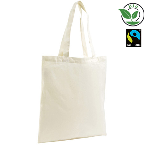 Bio Baumow Fairtrade Organic Shopping Bag Zen
