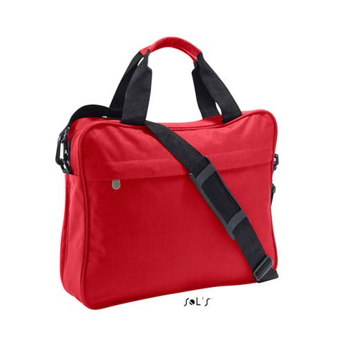 Businessbag Corporate, aus 100 Polyester, Aussentasche mit Zip, abnehmbarer Schultergurt aus schwarzem Nylon, Tragegriffe aus schwarzem Nylon mit Polsterung in der Farbe der Tasche, Handytasche innen