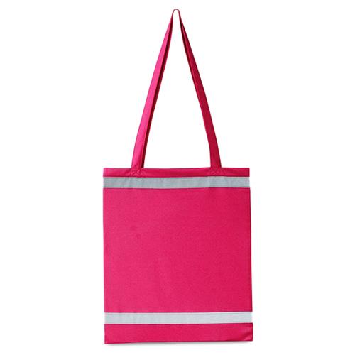 Warnsac Shopping Bag Einkaufstasche mit Reflektionsstreifen in auffälligen Taschenfarben, mit langen Henkeln und gut sichtbaren Reflektionsstreifen