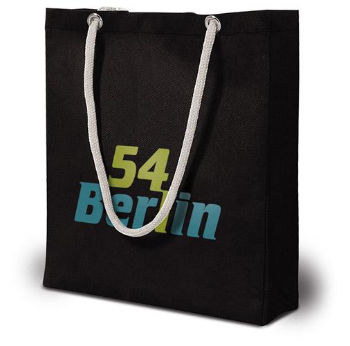 PP Vliestasche Berlin Einkaufstasche mit Logo bedrucken bei taschenprint.de