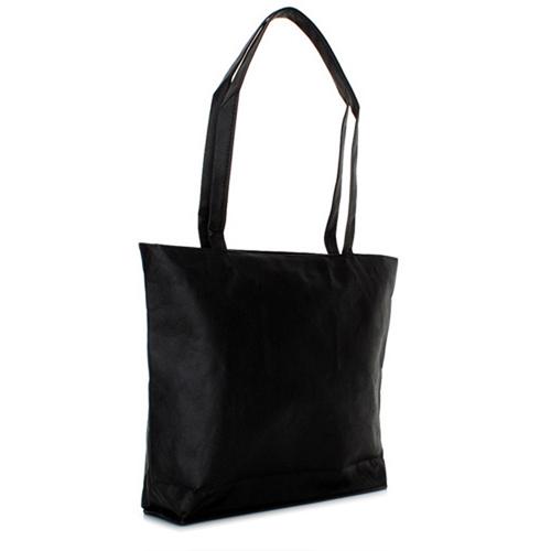 PP-Vliestasche Super Shopper, mit langen Henkeln, Innentasche mit Zip und Hauptfach mit Zip
