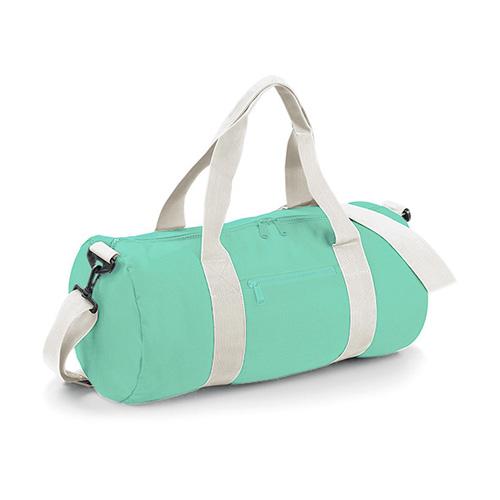 Reisetasche Original Barrel Bag - Reise- oder Sporttasche, aus 100%Polyester mit dem abnehmbaren, verstellbaren Schultergurt und gewebten Tragegriffen. Großes Hauptfach mit Zip, aufgesetzte Fronttasche. Inhalt 20 Liter. Von BagBase.