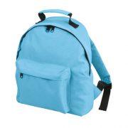 Den Kinderrucksack von Halfar Backpack Kids besteht zu 100% aus Polyester. Geräumiges Hauptfach, Vortasche mit einfachem Reißverschluss und längen verstellbare gepolsterte Tragegurte.