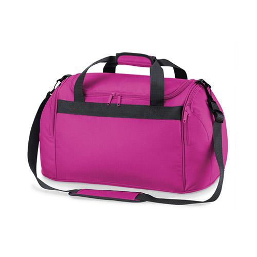 Freizeittasche Freestyle Holdall, grosse geräumige Reisetasche aus Polyester, mit Nylongurten, Tragehenkel und Schultergurt, Hauptfach-Abdeckung mit Doppel-Reißverschluss, Seitentaschen auch mit Doppel-Reissverschluß