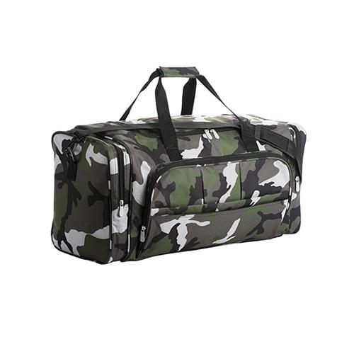 Reisetasche Travelbag Weekend, mit Seitentaschen und zusätzlicher Tasche an der Frontseite, Tragegriffe mit Polsterung in Taschenfarbe und abnehmbarem Schultergurt