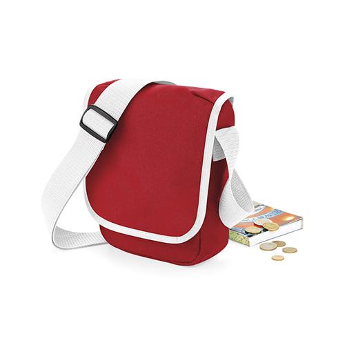 Die Umhängetasche Mini Reporter Freizeittasche aus 600D Polyester, mit verstellbarem Schultergurt, Reißverschluss-Tasche mit Klappe und zusätzlichem Klettverschluss. Überschlagtasche
