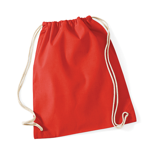westford mill cotton gymsack Bright Red
