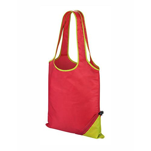 Compact Shopper eine faltbare Einkaufstasche aus leichtem Polyester Werbetasche leicht verstaubar in einem kleinen Beutel, passend für jede Handtasche