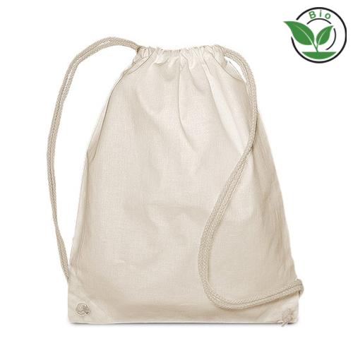 Bio Turnbeutel aus organischer Baumwolle GOT`s zertifiziert umweltfreundliche Werbetasche und mit Logo bedrucken bei taschenprint.de
