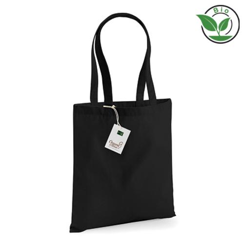 BIO Baumwolltasche Organic Bag for Life mit Werbemittel bedrucken bei Taschenprint.de