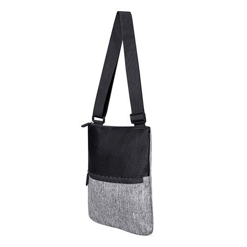 Umhängetasche Messenger Bag Washington eine trendy Umhängetasche mit äußerer Tasche und Reißverschluss, aus 600D Polyester mit verstellbarem Tragegurt.
