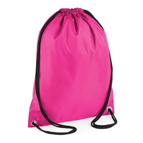 Budget Gymsack von BagBase, BG5 Turnbeutel mit zwei schwarzen Kordeln, wasserabweisendes Material in vielen frischen Farben zum Bedrucken mit Logo bei taschenprint.de