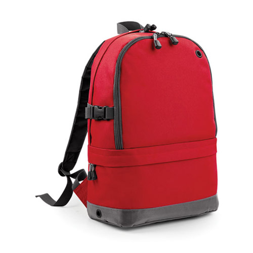 Athleisure pro backpack Werbemittel Rot