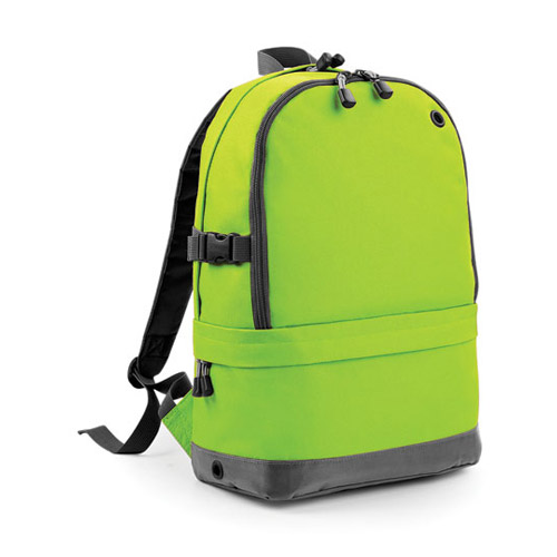 Athleisure pro backpack Werbemittel Lime Green