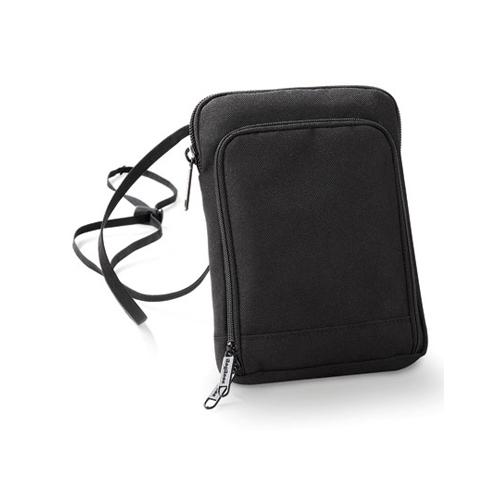 Handytasche Travel Wallet von Taschenprint Werbemittel Black