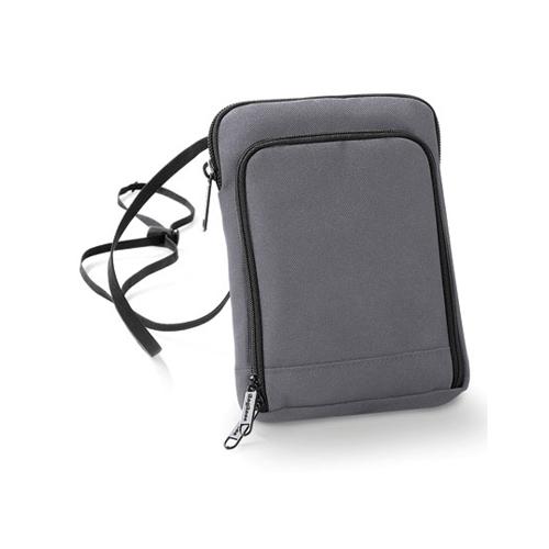 Handytasche Travel Wallet von Taschenprint Werbemittel Graphite Grey