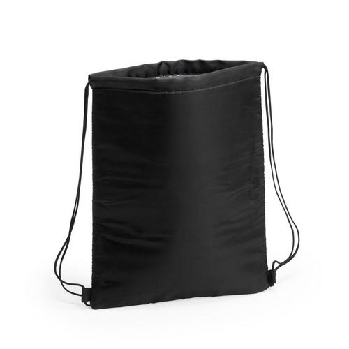 Kühltasche-Beutel Rucksack Nipex Turnbeutel mit Kühlfunktion in schwarz