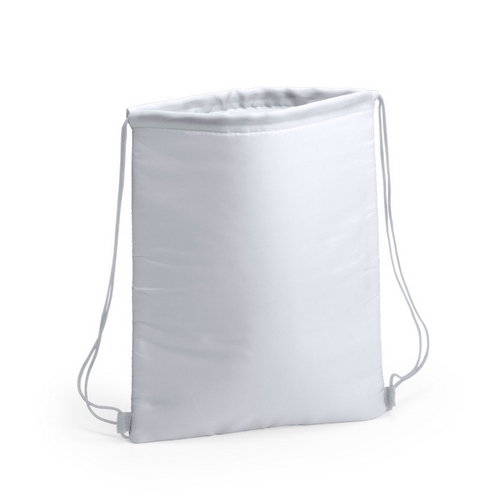 Kühltasche-Beutel Rucksack Nipex Turnbeutel mit Kühlfunktionweiß