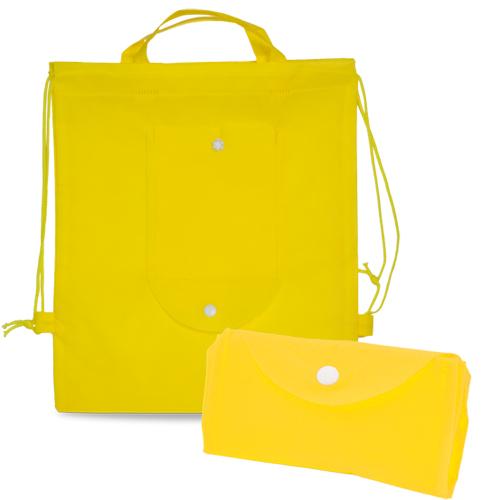 Kinder Turnbeutel Nomi PP-Non-Woven faltbar in gelb