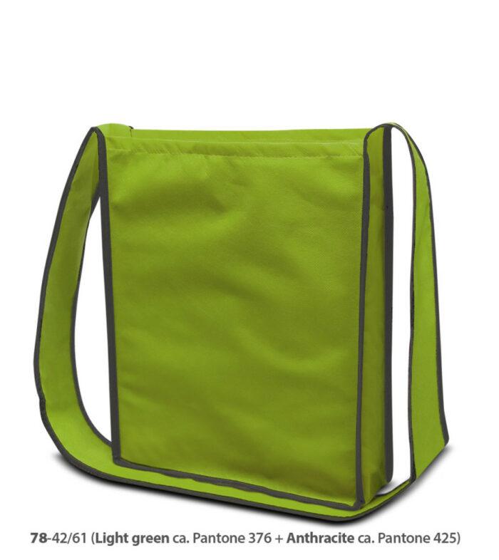 PP-Vliestasche Bristol Umhängetasche Non Woven grün