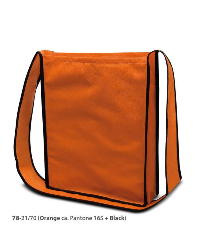 PP-Vliestasche Bristol Umhängetasche Non Woven orange