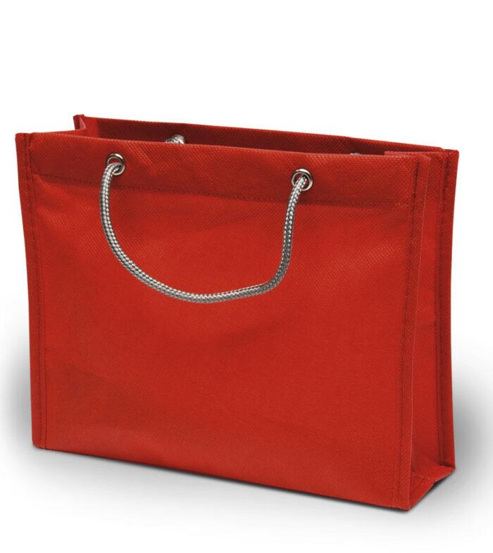 Pp-Vliestasche London non wovwen Kordelhenkel TAPP061 kleine Boutiquetasche in 4 Farben zum bedrucken bei taschenprint.de