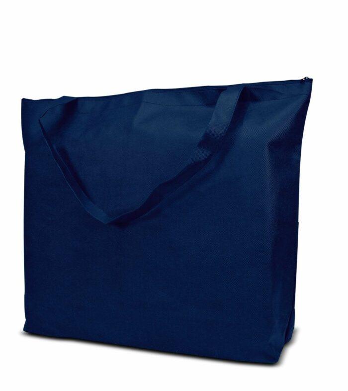 PP-Vliestasche Stockholm Non Woven Werbetasche zum Bedrucken mit Logo oder Werbung, von Joytex dunkelblau