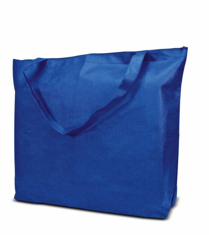PP-Vliestasche Stockholm Non Woven Werbetasche zum Bedrucken mit Logo oder Werbung, von Joytex royalblau