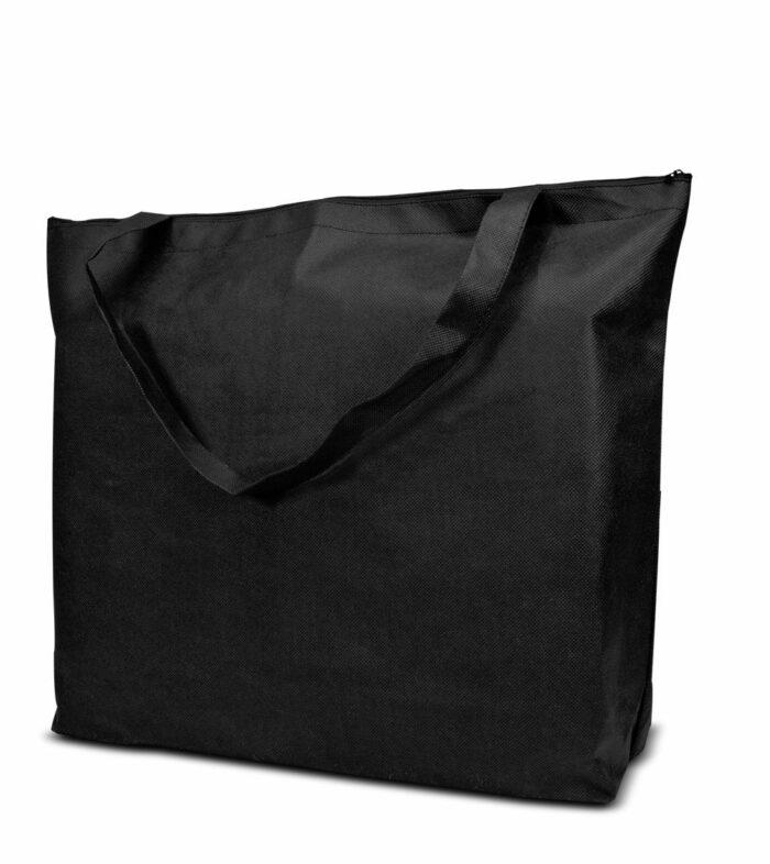PP-Vliestasche Stockholm Non Woven Werbetasche zum Bedrucken mit Logo oder Werbung, von Joytex schwarz