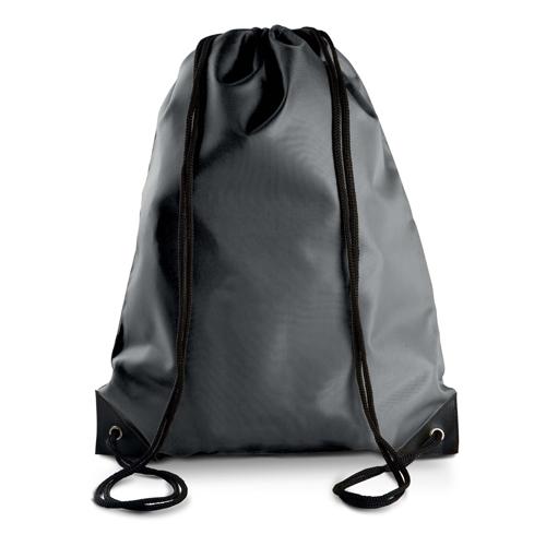 Turnbeutel günstig bedruckt in vielen modischen Farben Dark Grey