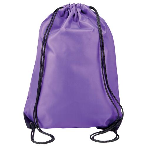 Turnbeutel günstig bedruckt in vielen modischen Farben Purple