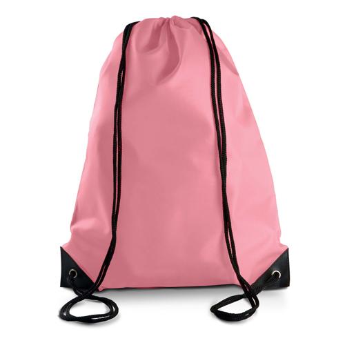Turnbeutel günstig bedruckt in vielen modischen Farben True Pink