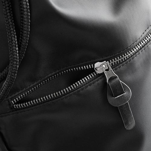 Onyx Gymsack eleganter Turnbeutel bei Taschenprint