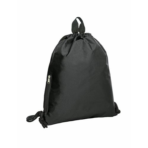 Zugbeutel Join Turnbeutel von Halfar mit Logo bedrucken bei Taschenprint Black