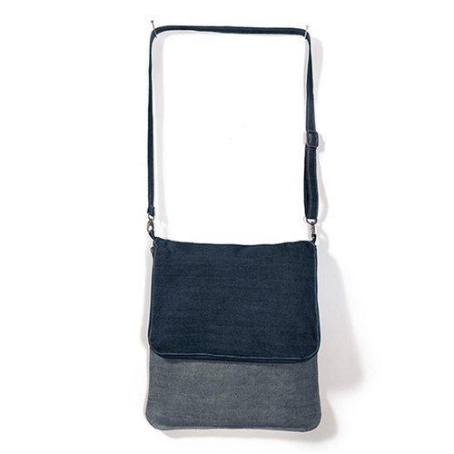 Messenger Bag Denim Vibe mit Werbemittel