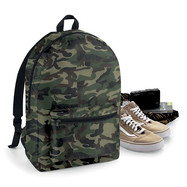 Packaway Backpack Rucksack von BagBase mit Logo bedrucken